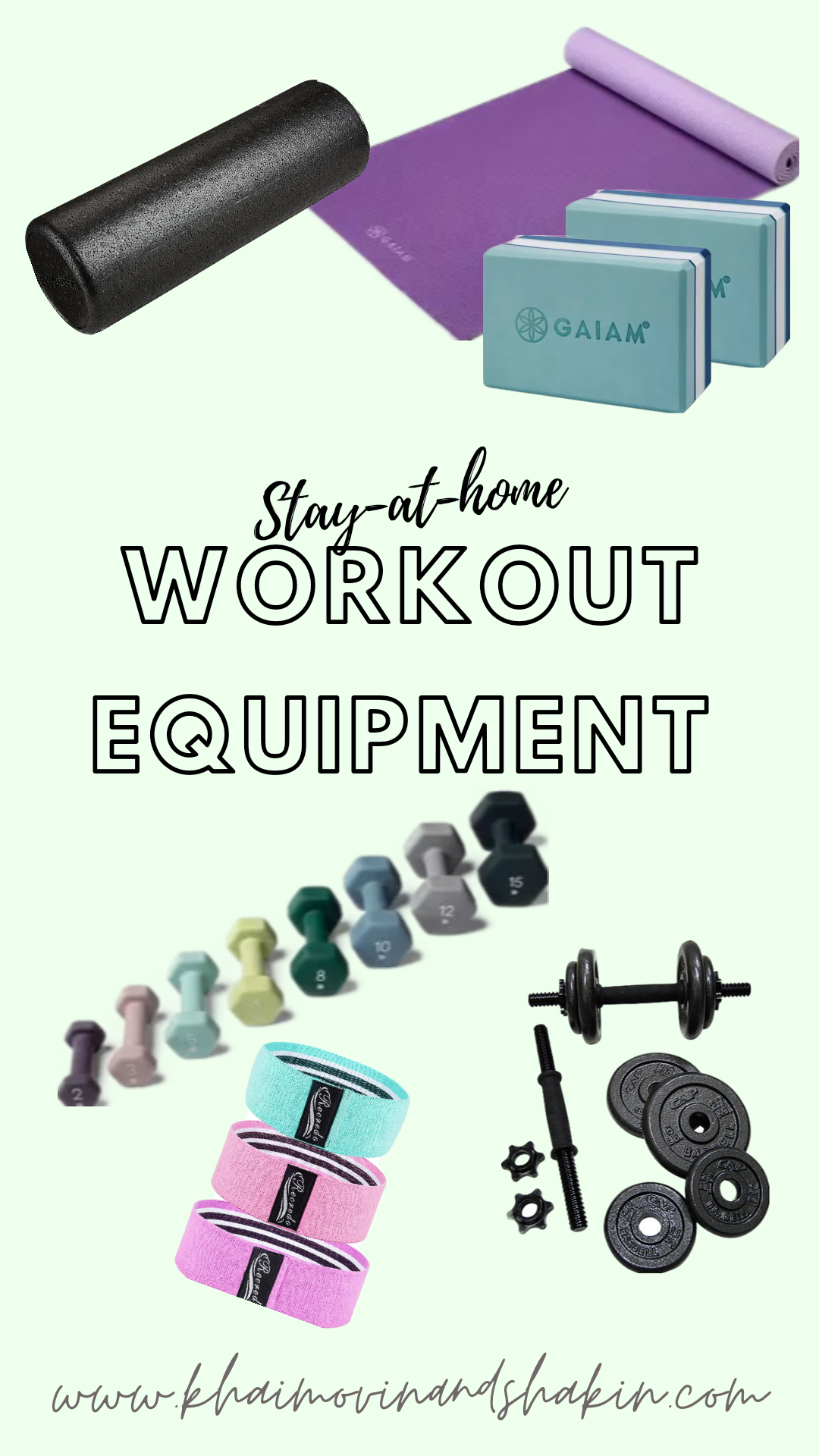 Must Have At Home Workout Equipment
